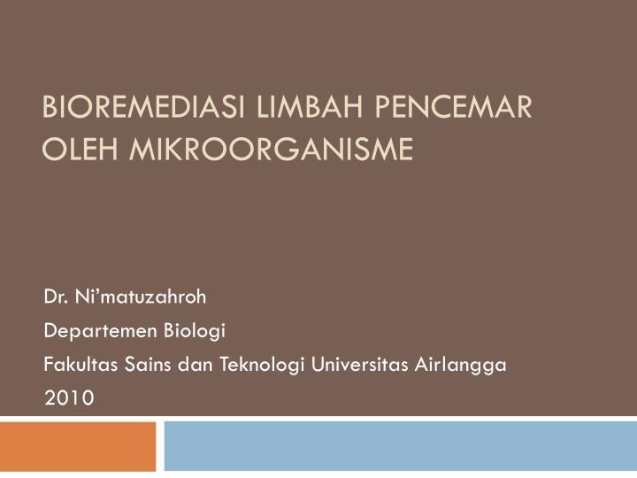 Global Teknologi Bioremediasi Market 1