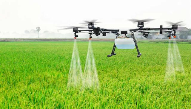 Global Drone pertanian Market