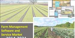 Pasar Perangkat Lunak dan Layanan Manajemen Pertanian