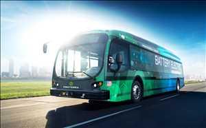 Bus Listrik Pasar