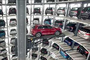 Sistem Parkir Robotik Pasar