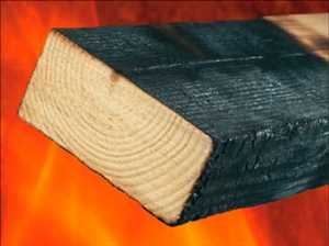 Kayu yang Diperlakukan Tahan Api