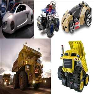 Robot Mobil dan Truk